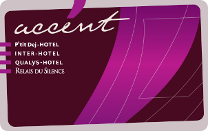 Carte Accent Inter Hotel